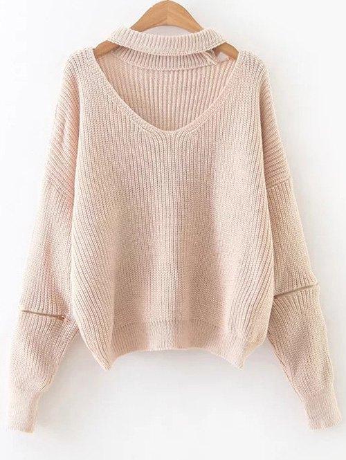 Oversized Choker Sweater