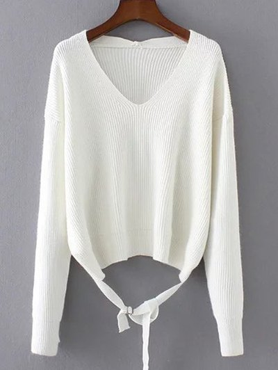 String Loose Sweater
