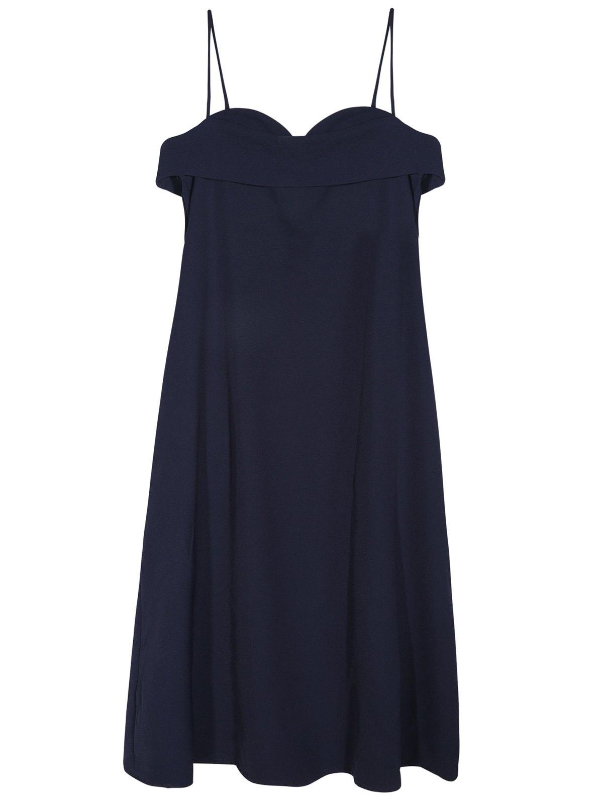 A Line Midi Cami Dress