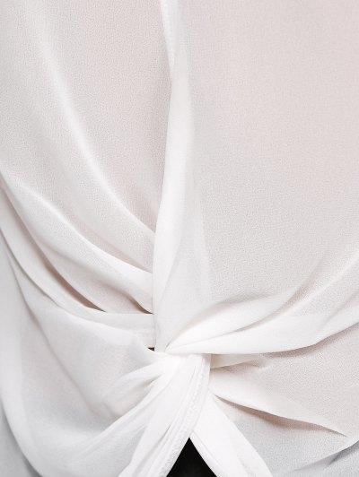 See-Through Back Cutout Shirt от Zaful.com INT