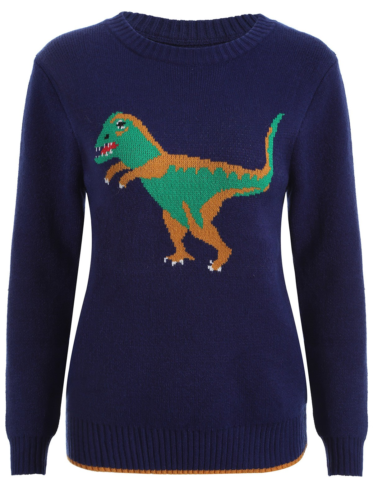 Dinosaurs Print Cartoon Knitwear