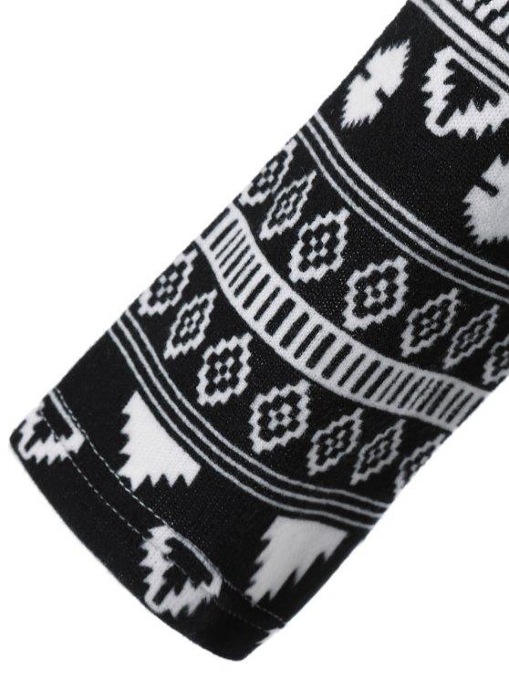Long Tribal Sleeve T-Shirt - LIGHT GRAY XL Mobile