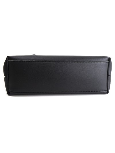 Magnetic Metal Handle PU Leather Tote Bag от Zaful.com INT