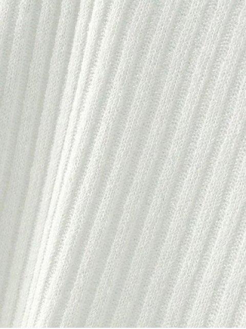 new Cutout V Neck Choker Jumper - GRAY S Mobile