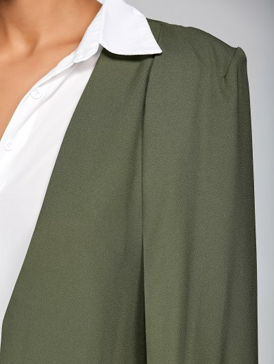 Loose Cape Cloak Overcoat - ARMY GREEN S Mobile