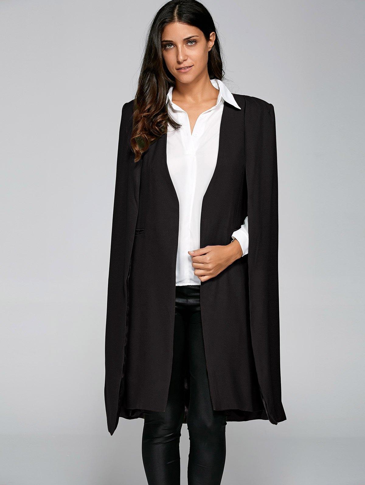 Loose Cape Cloak Overcoat 194963716
