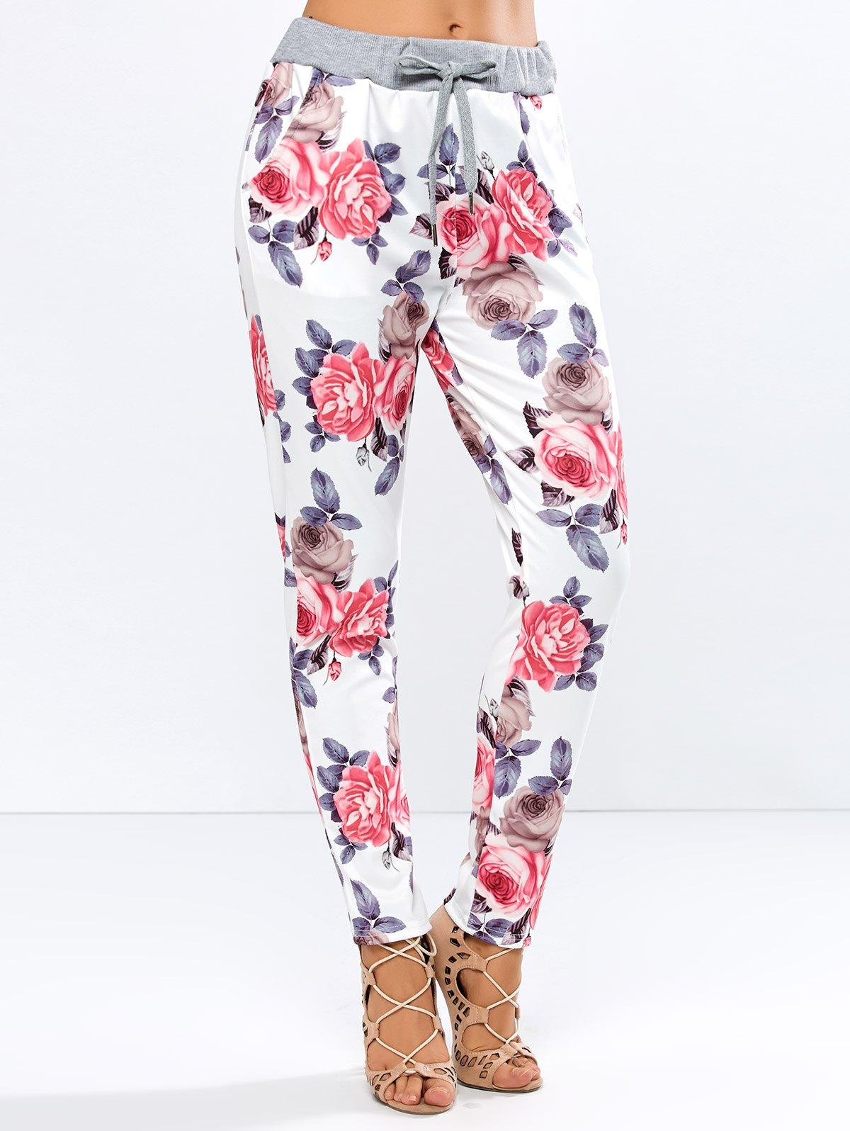 Pantaloni de damă ZAFUL Floral