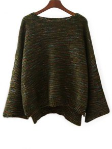 Marled Oversized Sweater