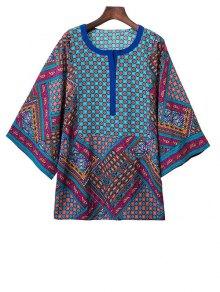 Kimono Sleeve Boho Top
