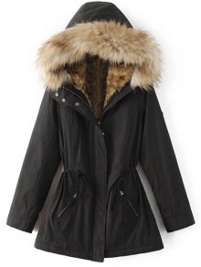 Buy Faux Fur Lined Parka Coat
