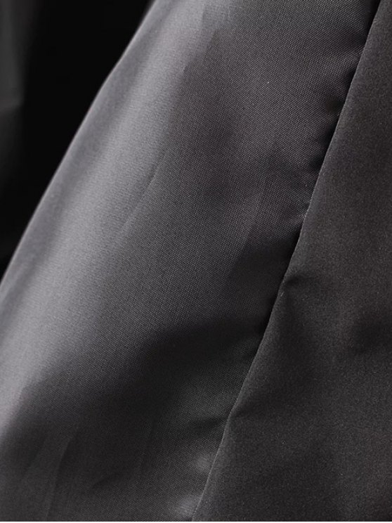 Tiger Embroidered Quilted Souvenir Jacket - BLACK M Mobile