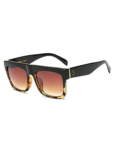 Hawksbill Patch Rectangle Sunglasses