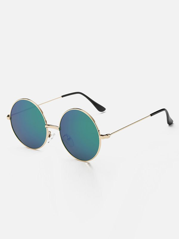 Metal Round Mirror Sunglasses