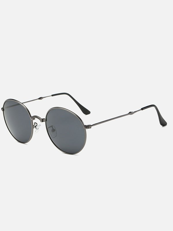 Cambered Nose Bridge Oval Sunglasses