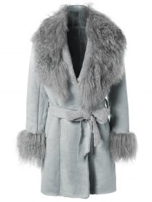 Faux Lamb Wool Coat