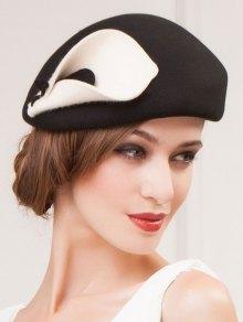 Buy Calla Wool Beret - BLACK