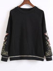 Fish Embroidered Sweatshirt