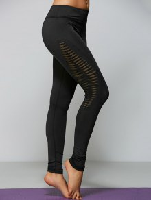 Leggings Yoga Skinny - Negro