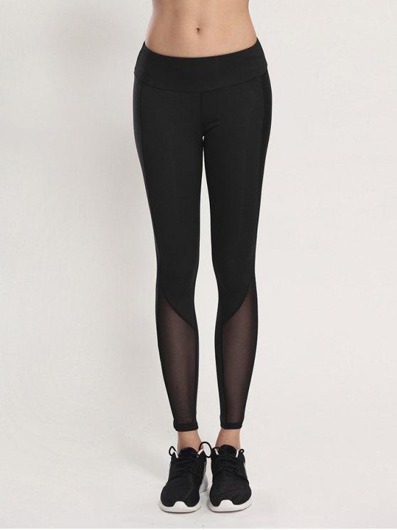BODYCON اليوغا الفوال اللباس - أسود XL