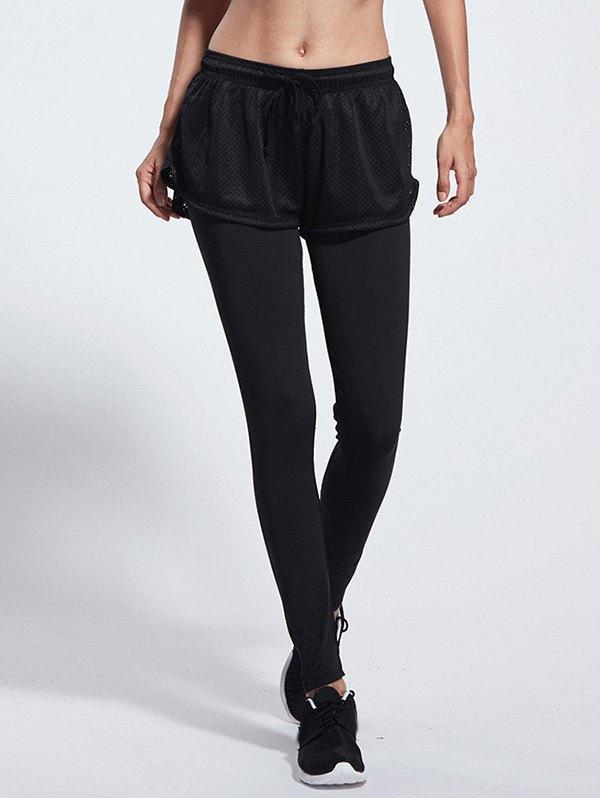 Drawstring Skinny Gym Pants