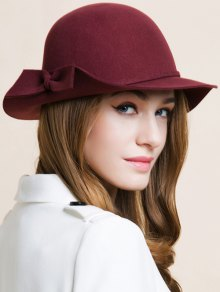 Bowknot Edge Dome Hat