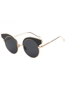 Round Lens Butterfly Sunglasses