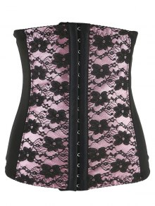 Retro Steal Boned Underbust Lace Corset