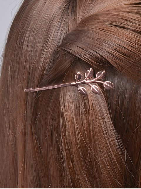 buy Leaves Alloy Hair Accessory - ROSE GOLD  Mobile