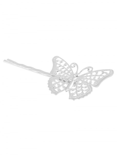 women Butterfly Alloy Hair Accessory -   Mobile