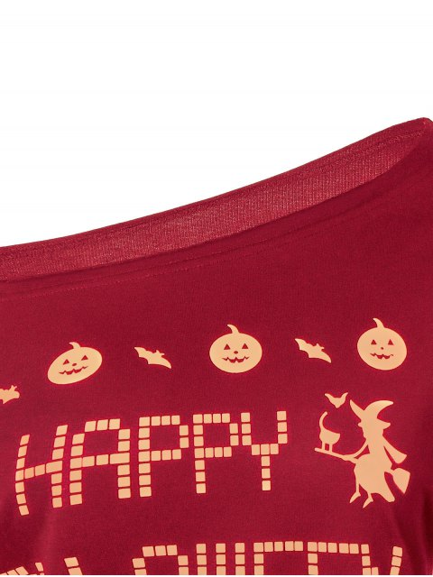 hot Witches Halloween Sweatshirt - RED S Mobile