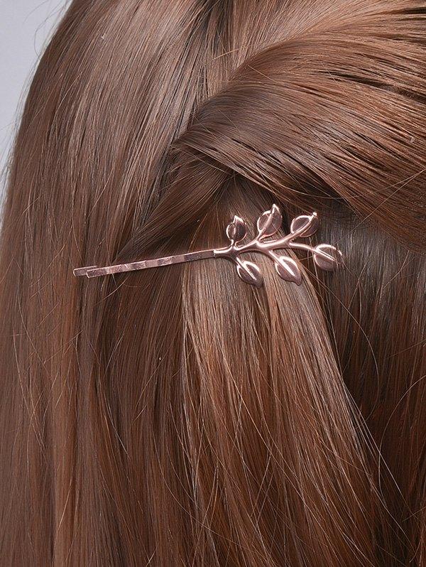 Alloy Leaves Hair Accessory