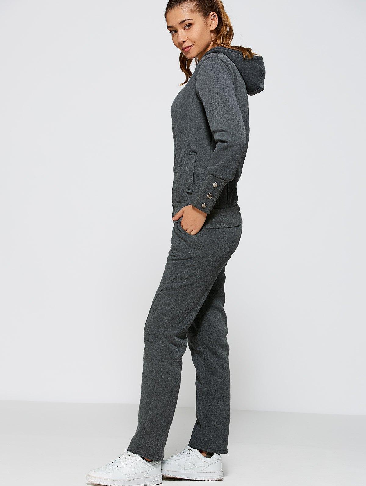 Zipper Hoodie+Pants