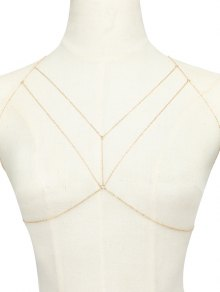 Geometric Adorn Body Chain
