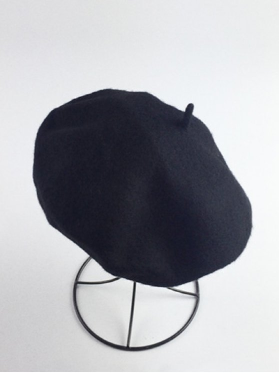 Art Painter Felt Beret - Noir