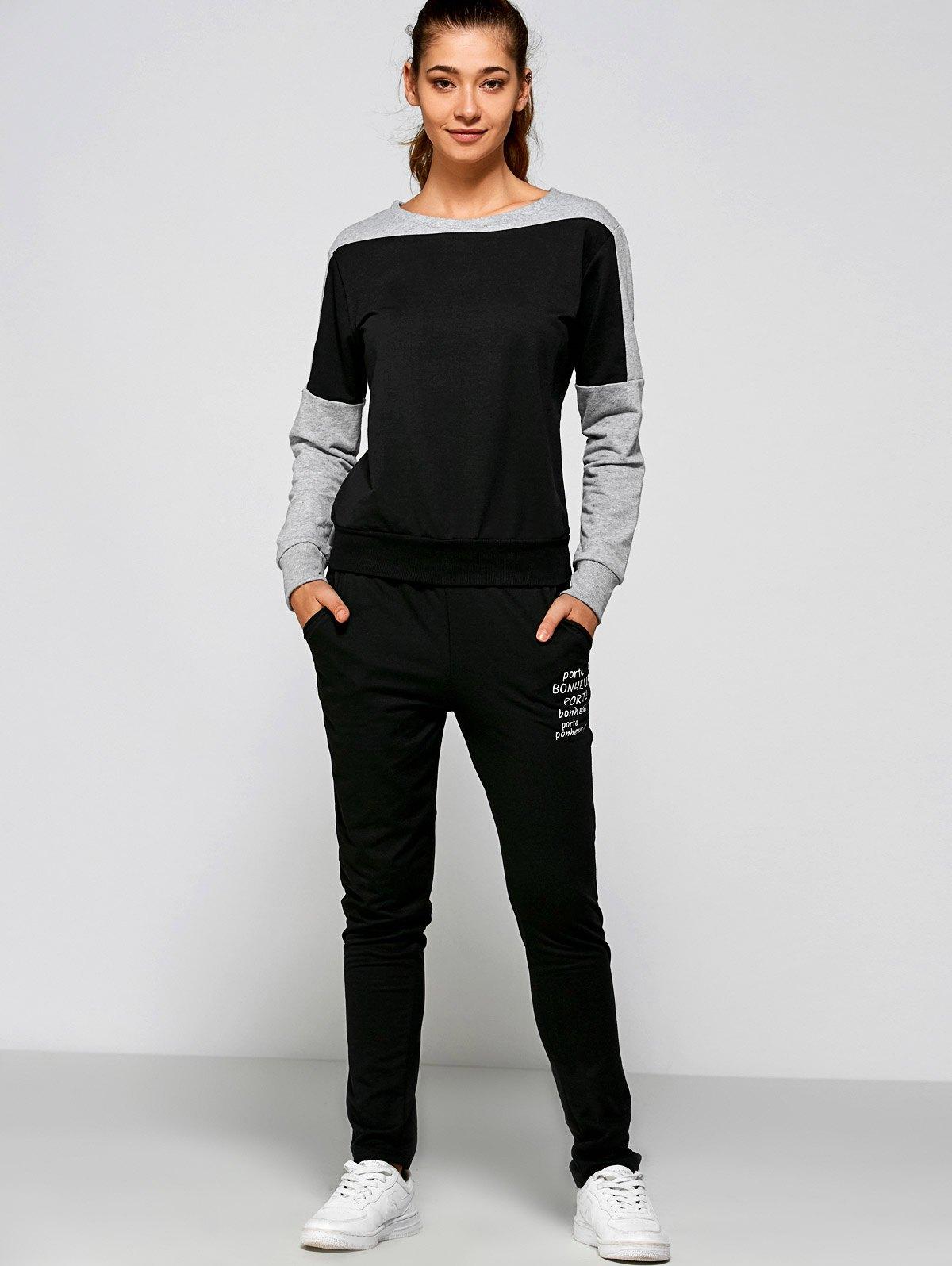 Print Sweatshirt+Pants