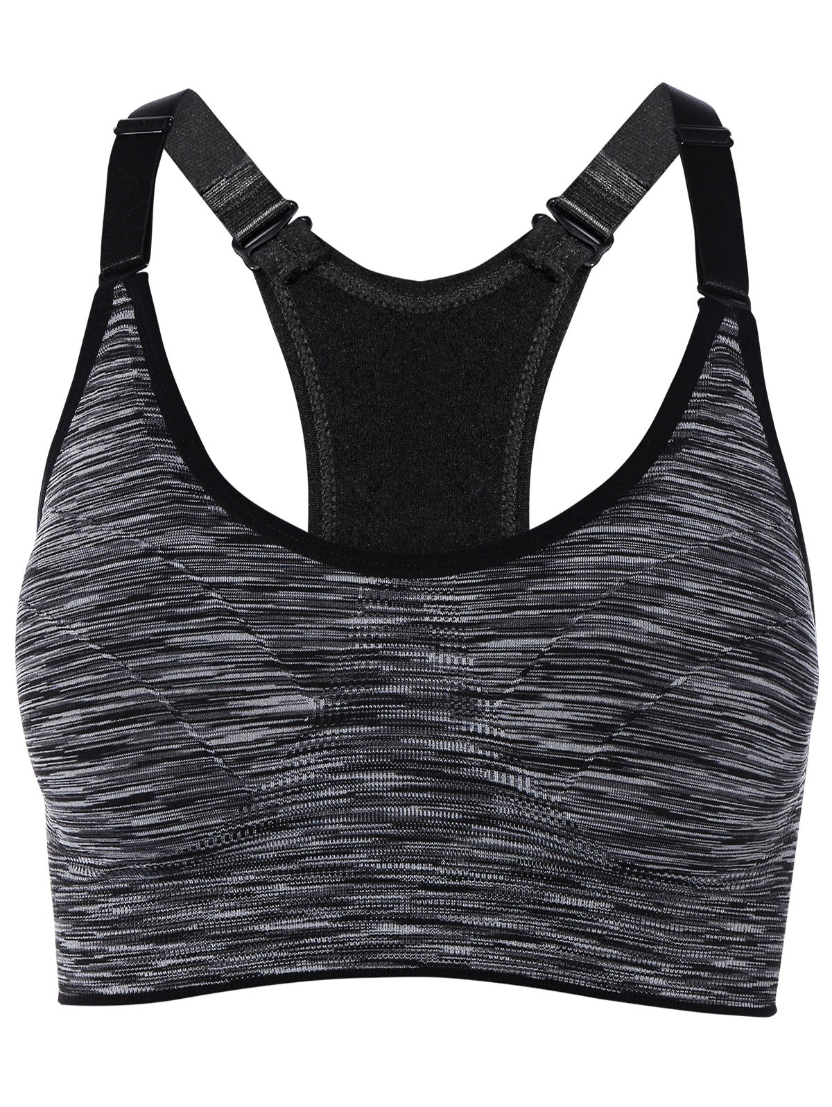 Cut Out Back Racerback Sports Bra