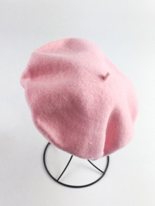 Art Painter Felt Beret - Rose Clair