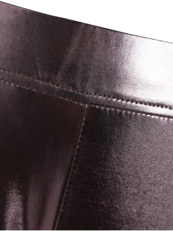 Metallic Color Leggings - METALLIC 2XL Mobile
