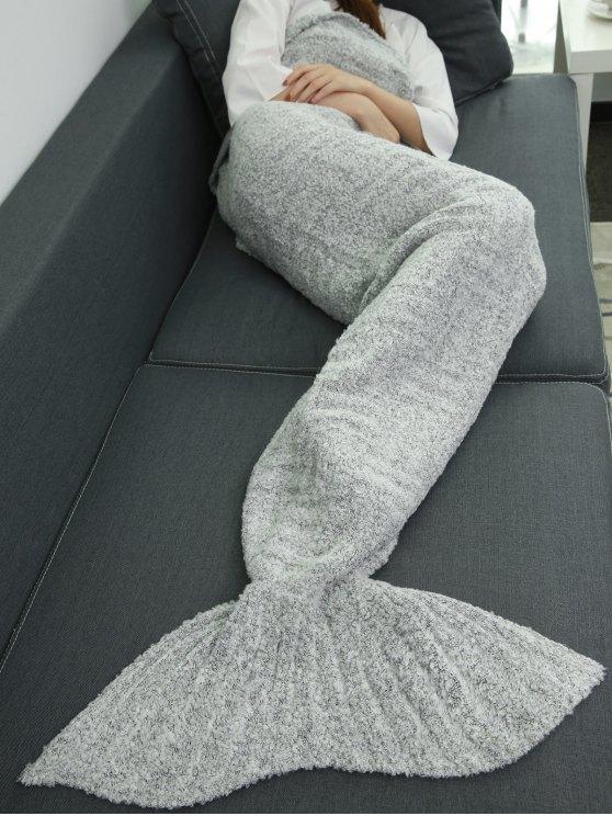 Sofa Sleeping Bag Wrap Mermaid Tail Blanket -   Mobile