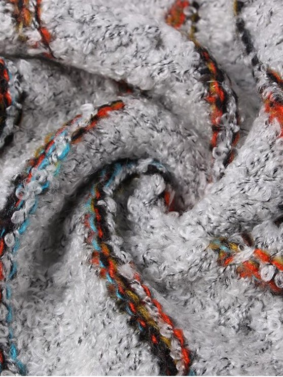 Striped Wrap Mermaid Tail Blanket -   Mobile