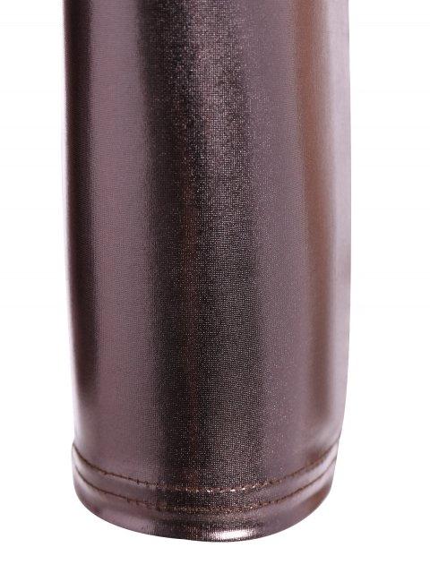 unique Metallic Color Leggings - METALLIC 2XL Mobile