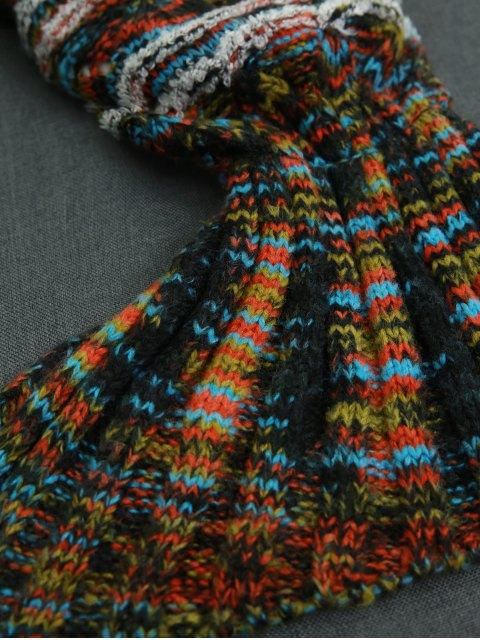trendy Knitted Sofa Sleeping Bag Mermaid Tail Blanket -   Mobile
