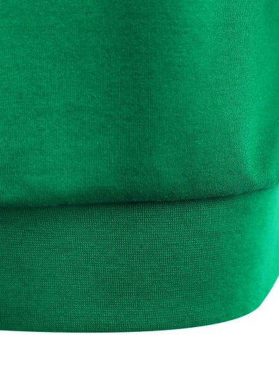 Witches Halloween Sweatshirt - GREEN XL Mobile