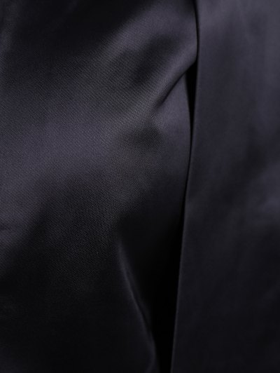 Collarless Work Cape Blazer - BLACK M Mobile