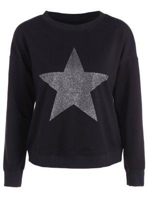 Star Graphic Sweatshirt - Black