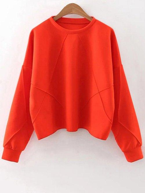 Batwing Sleeve Sweatshirt