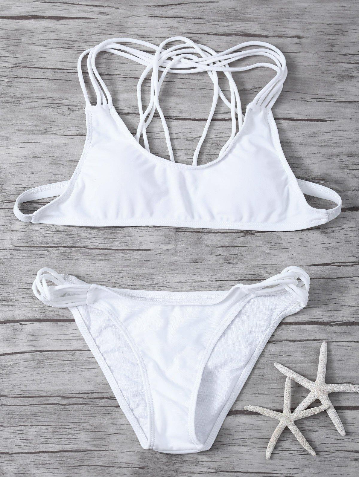 Padded Strappy Bikini Set