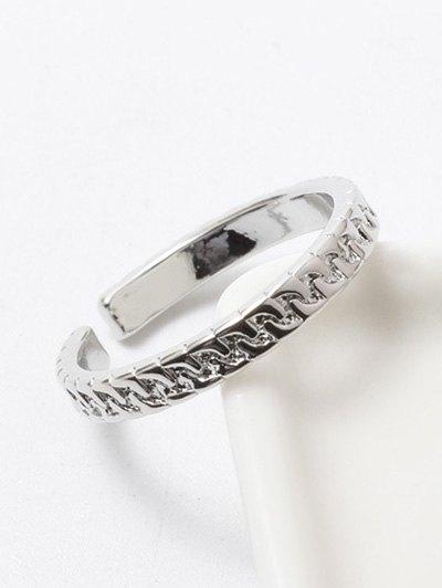 Polished Roman Cuff Ring