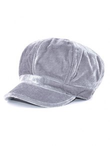 Soft Outdoor Adjustable Pleuche Beret Cap