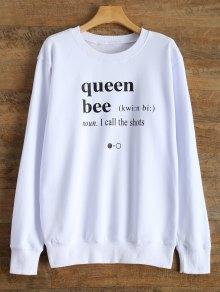 Fitting Letter Sweatshirt